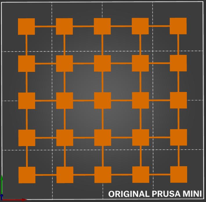 25 squares