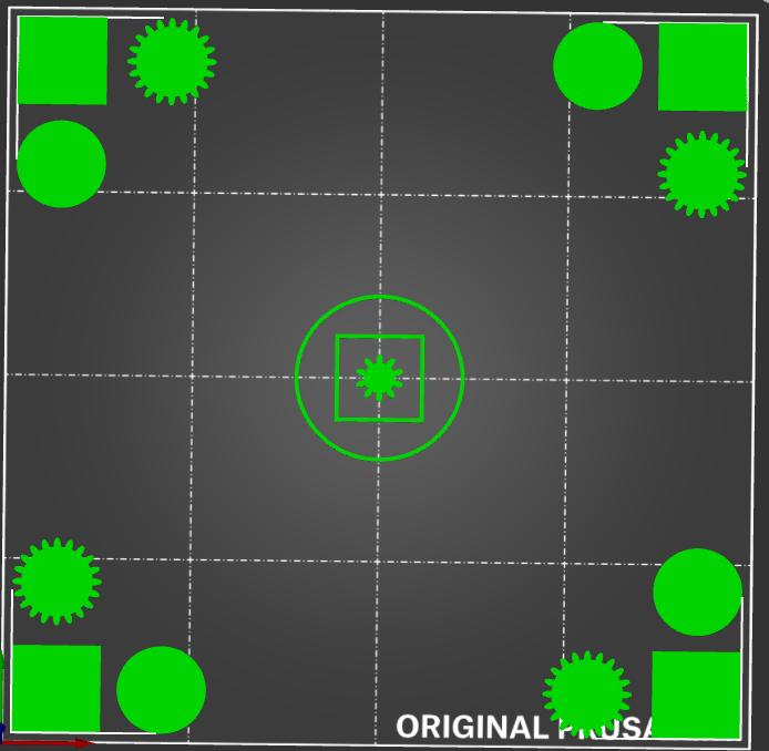 Circles stars squares