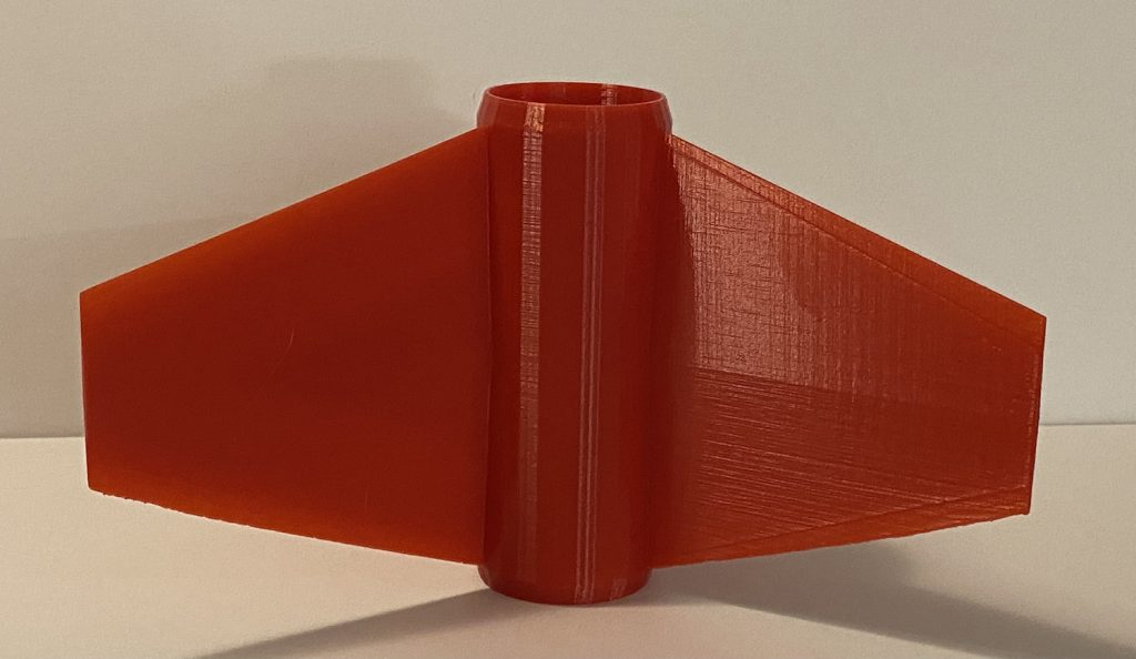 38mm Rocket Fin Can