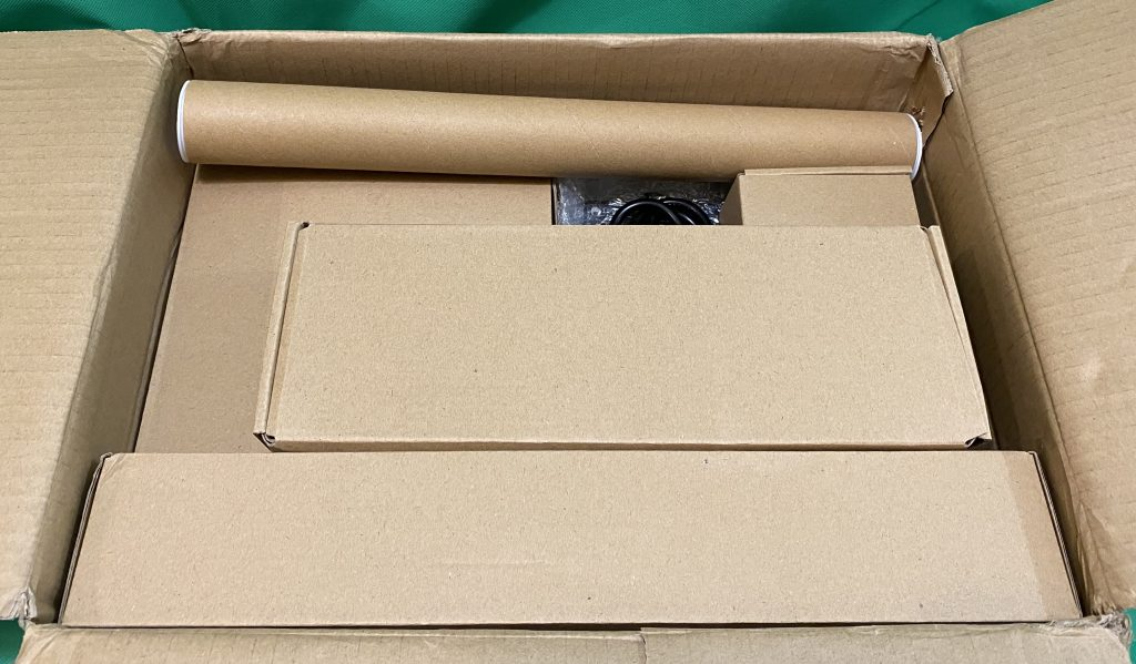 Inside box