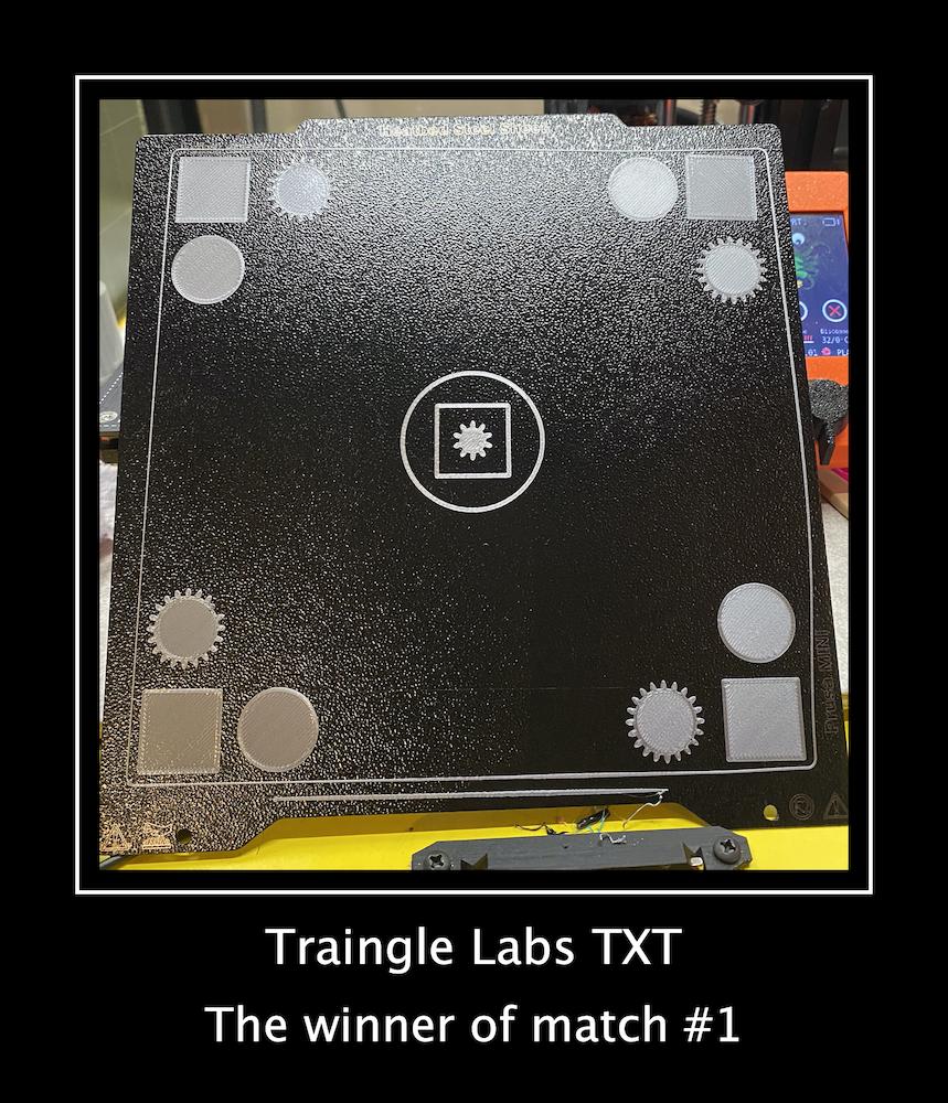 Match 1 - Triangle labs